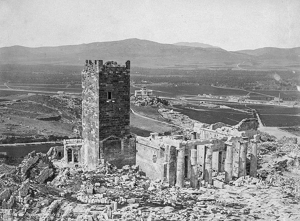 Acropolis Frankish tower