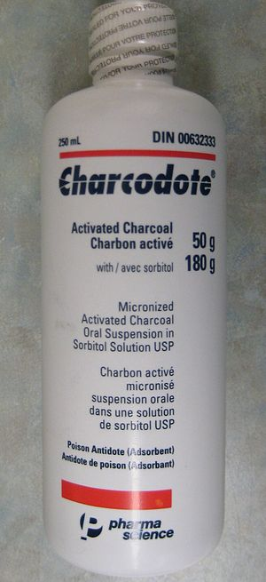 Activated carbon - Activated charcoal for medical use