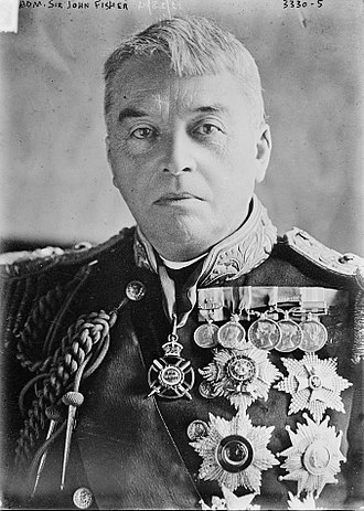 John Fisher, 1st Baron Fisher - Lord Fisher in December 1915