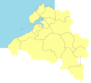 Danzhou - Image: Administrative Division Danzhou