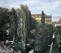 Adolph Menzel Blick auf den Park des Prinzen Albrecht 1846-.jpg