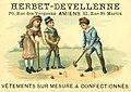 Advertising card depicting three children playing croquet (14173562760).jpg