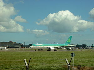 Aer Lingus Airplane Before Take Off.JPG
