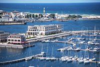 Aerial view Yacht Harbour Residence Rostock Yachthafenresidenz Hohe Düne 1.jpg