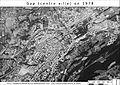 Photographie aérienne de Gap de 1978