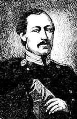Afanasy Fet - Afanasy Fet as a Russian army officer
