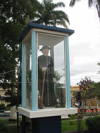 Padre Cícero - An iconic representation of Padre Cícero, on display in the city of Agrestina.
