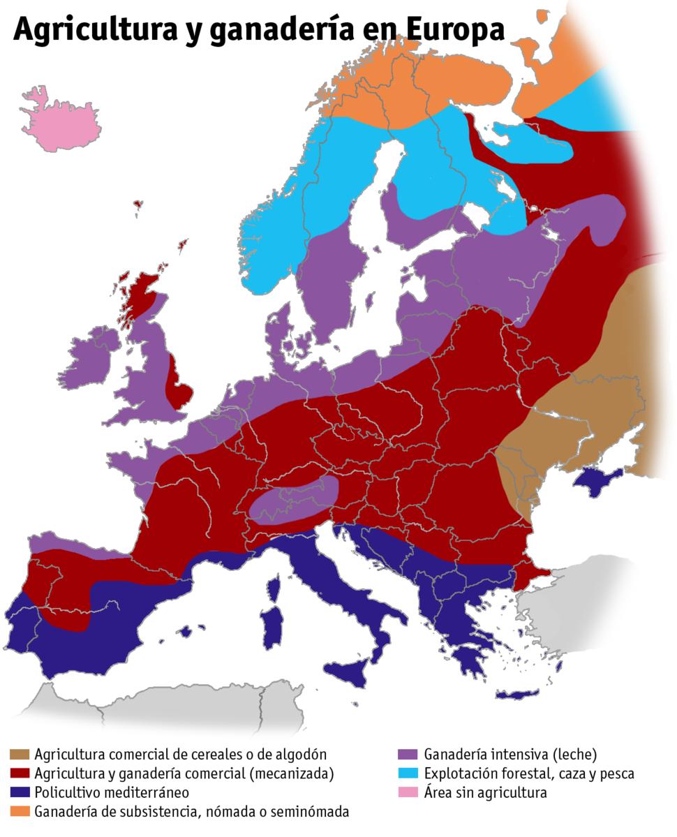 Agricultura ganaderia europa