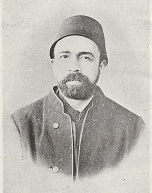 Ahmed Arifi Pasha - photo dated around 1872