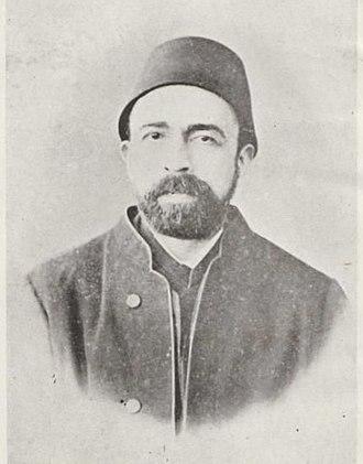 Ahmed Arifi Pasha - photo dated around 1872