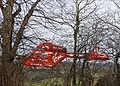 Air ambulance landing Trent Park, London N14 - geograph.org.uk - 1166766.jpg
