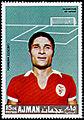Ajman 1968-09-15 stamp - Eusébio da Silva Ferreira.jpg