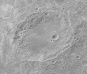 Al-Biruni (crater) - Image: Al Biruni crater AS16 P 5532 ASU