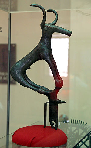Alaca Höyük bronze standards - Bull