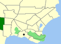 Albany-Gledhow map.png