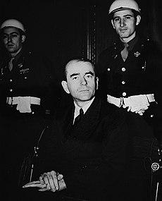 Speer at the Nuremberg Trials