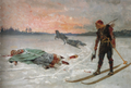 Albert Edelfelt - Bishop Henry killed by Lalli.png