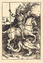 Albrecht Dürer, Saint George Killing the Dragon, 1501-1504, NGA 6715.jpg