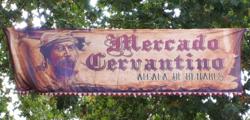 Alcalá de Henares (RPS 12-10-2019) Mercado Cervantino, cartel.png