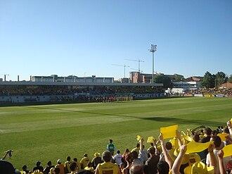Estadio Municipal de Santo Domingo - Image: Alcorcón Ontiyent