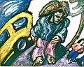Alek Rapoport - Tramp and Yellow Cab - 1984.jpg