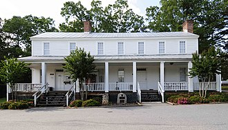National Register of Historic Places listings in Oconee County, South Carolina - Image: Alexander Hill House