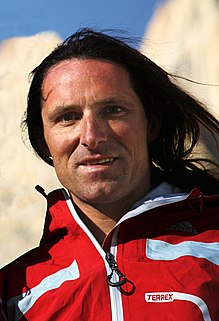 Alexander Huber German rock climber and mountaineer