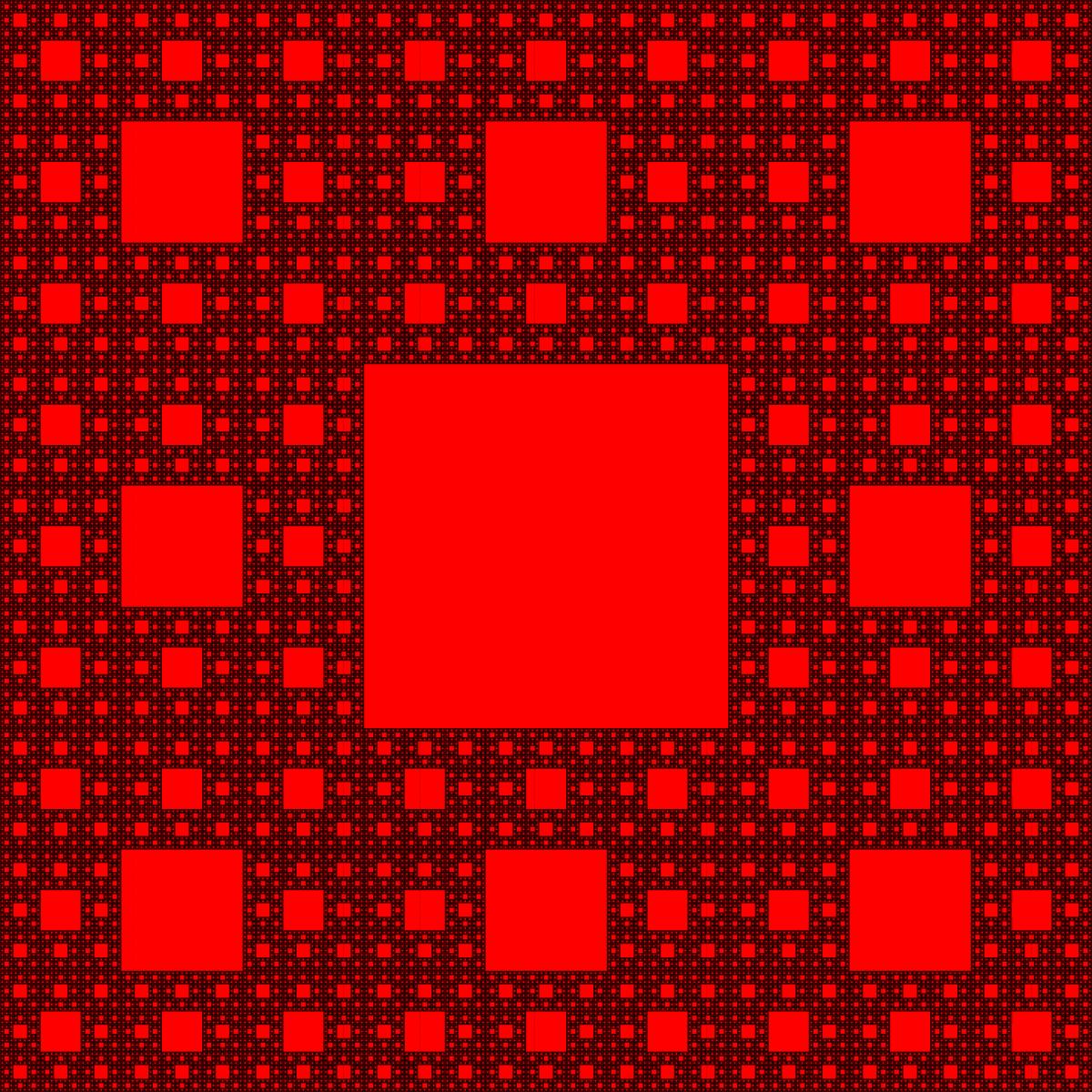 Alfombra de sierpinski wikipedia la enciclopedia libre - Alfombras dibujos geometricos ...