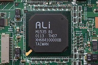 ALi Corporation - Image: Ali M1535