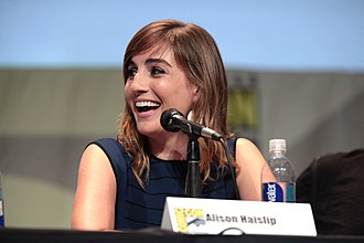 Alison Haislip - Haislip at the San Diego Comic-Con in July 2015