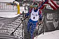Allison Jones competing in the Super G during the second day of the 2012 IPC Nor Am Cup at Copper Mountain.jpg