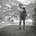 Alojz Jakelj, Trenta 16, pri Marku 1952.jpg