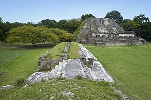 Altun Ha - Temple of the Masonry Altars