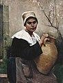 Amélie Lundahl - Breton Girl Holding a Jar.jpg