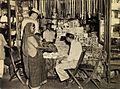 American GIs at a shop in Calcutta in 1945.jpg