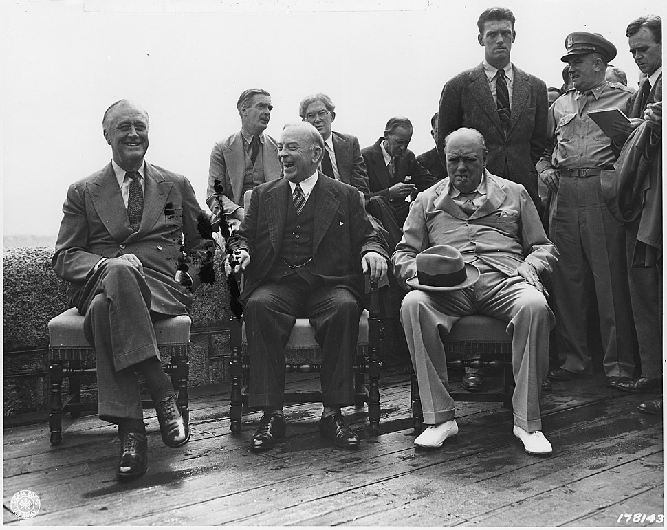American and Allied leaders at international conferences - NARA - 292626