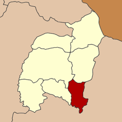 Amphoe location in Amnat Charoen Province