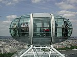 Capsule van de London Eye
