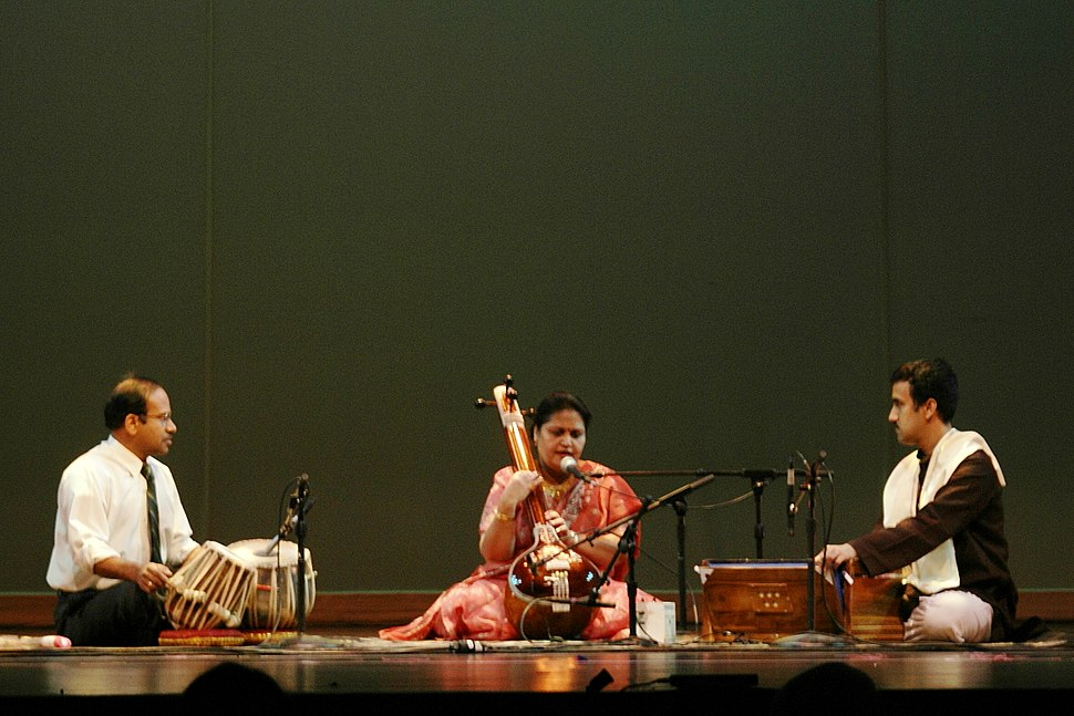 An Indian classical music performance
