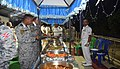 An International Food Festival organised as part of maiden trilateral exercise between Indian Navy Republic of Singapore Navy and Royal Thai Navy 2.jpg