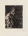 Anders Zorn - Village folk musician (etching) 1904.jpg