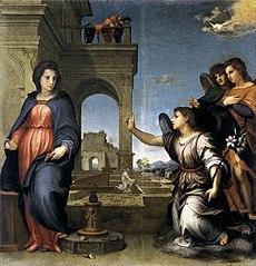 L'Annonciation à Marie