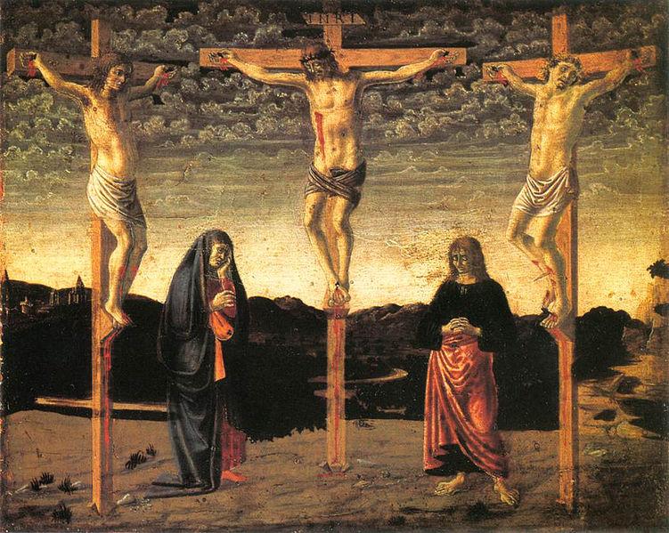 Archivo: Andrea del Castagno, crocefissione londra.jpg
