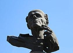 Andrei Sakharov monument in Yerevan 04.JPG