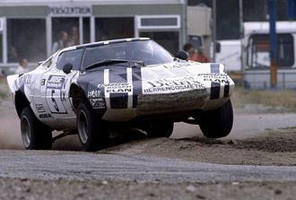 Lancia Stratos - 1983 Andy Bentza and his RX Lancia Stratos HF, the only 3.0 L Stratos