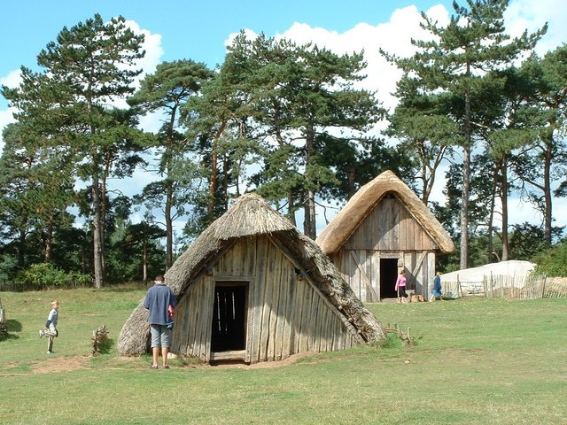Anglo-Saxon village at West Stow 6337 Keith Evans