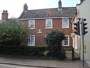 Anna Sewell - Anna Sewell's home in Old Catton