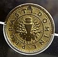 Anonimo, medaglia di vincenzo I gonzaga, 1590, in stagno 02 fascio di verghe nel crogiolo.jpg