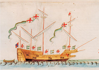 William Wynter - The Swallow was storm-damaged off Flamborough Head on 16 January 1560