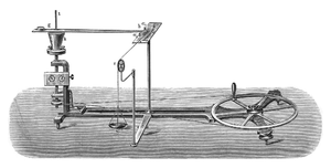 Ivan Puluj - Puluj's apparatus for determining the mechanical equivalent of heat